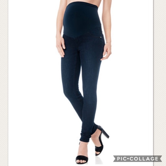7c1f1d40945 Jessica Simpson Pants - Jessica Simpson maternity petite skinny jeans - Lg